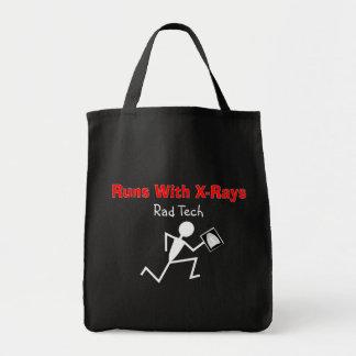 Funny Rad Tech Tote Bags