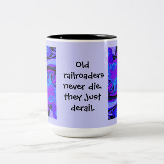 funny railroad workers mug