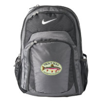 Funny Rainbow Trout Bum Backpack