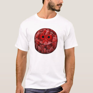 Funny Raspberry Emoticon T-Shirt