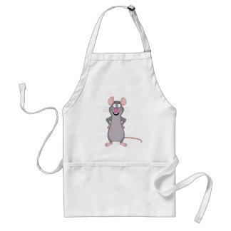 funny rat adult apron