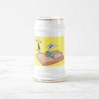 Funny Rat Birthday Beer Stein