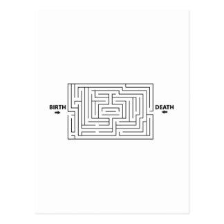 Funny Rat Race Maze Postcards