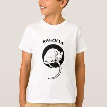 Funny Rat RatZilla T-Shirt