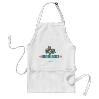 Funny Reading Adult Apron