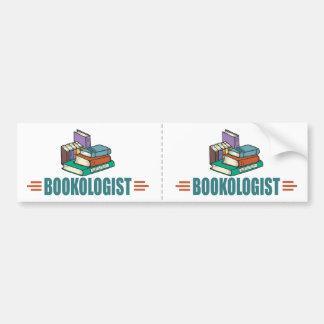 Funny Reading Bumper Sticker