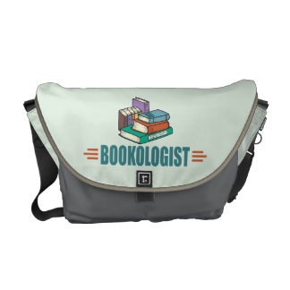 Funny Reading Courier Bag
