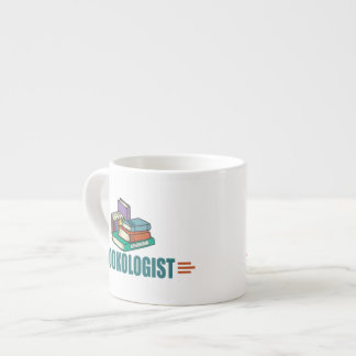 Funny Reading Espresso Cup