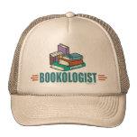 Funny Reading Mesh Hats