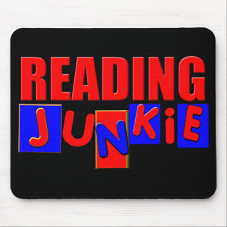 funny reading mouse pad