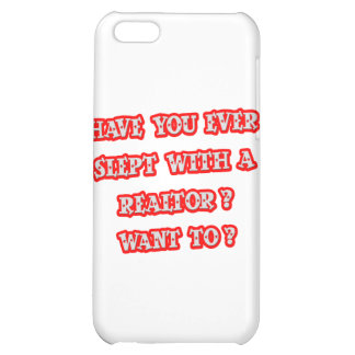 Funny Realtor Pick-Up Line iPhone 5C Covers