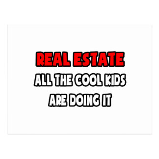 Funny Realtor Shirts and Gifts Postcard