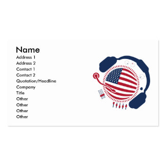 Funny_Record Double-Sided Standard Business Cards (Pack Of 100)