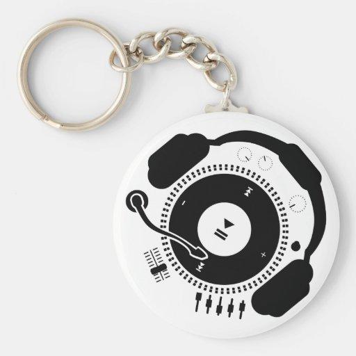 Funny_Record Llavero Redondo Tipo Pin