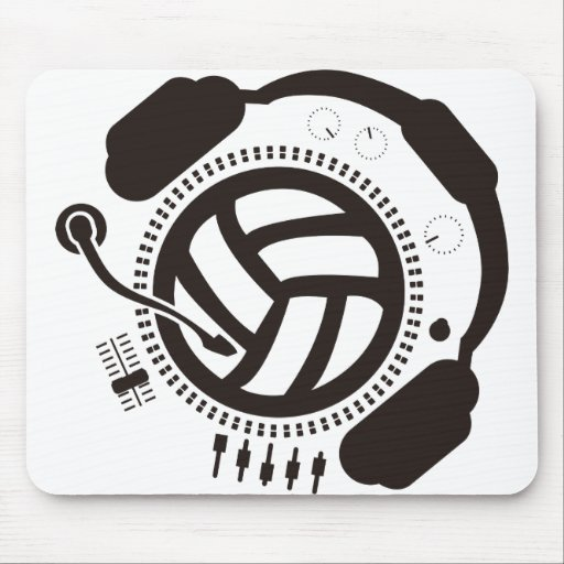 Funny_Record Mouse Pad