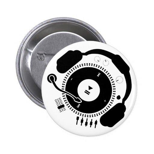 Funny_Record Pin Redondo 5 Cm