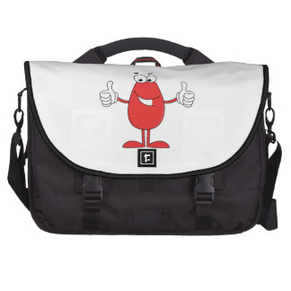Funny Red Cartoon Bags For Laptop