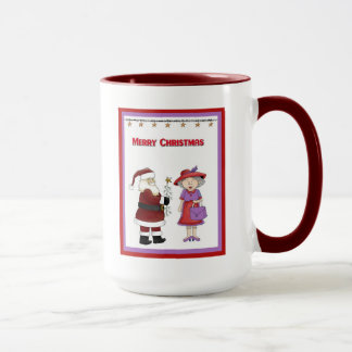 Funny Red Hat Woman Coffee Cup