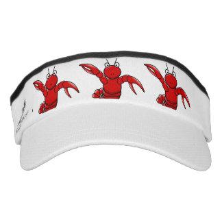 Funny Red Lobster Visor