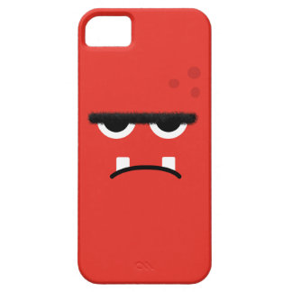 Funny Red Monster Face iPhone 5 Case