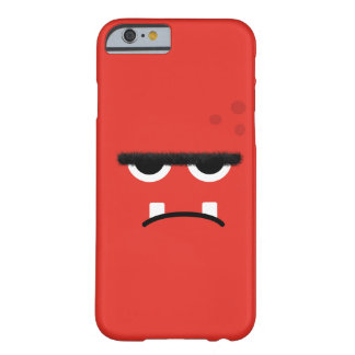 Funny Red Monster Face iPhone 6 Case