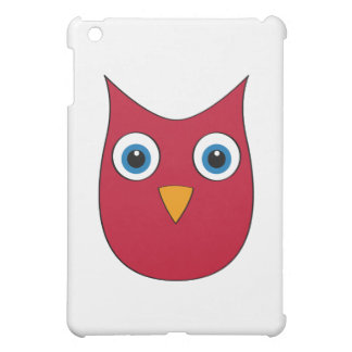 Funny Red Owl - Eyes wide open... iPad Mini Cases