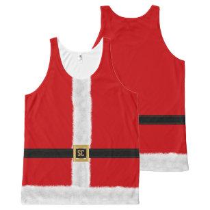 Funny Christmas Tank Tops.Funny Christmas All Over Print Tank Tops Zazzle