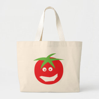 funny red tomato icon bags
