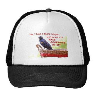 Funny Red-Winged Blackbird Trucker Hats