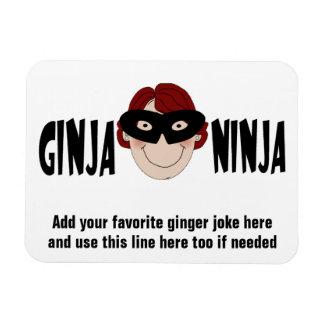 Funny Redhead Ginger Joke Fridge Magnet