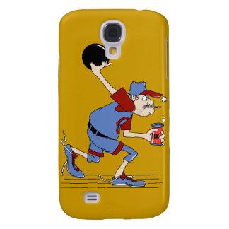 funny redneck bowler bowling humor design galaxy s4 case
