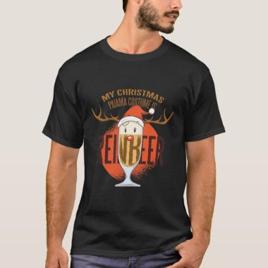 Funny REINBEER Christmas Clothing For BEER Lovers T-Shirt