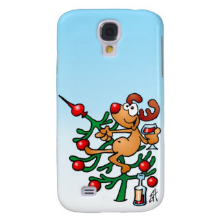 Funny Reindeer Samsung Galaxy S4 Cover