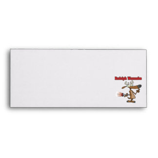 funny reindeer wannabe envelopes