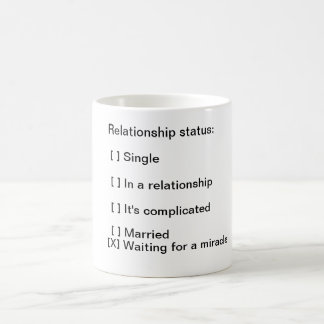 Funny Relationship Status Coffee Mug Office Humor