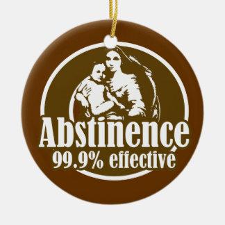 Funny Religious Parody Ceramic Ornament