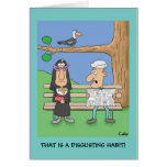 Funny religious personalized greeting card