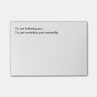 Funny Reminder Post-its Post-it Notes