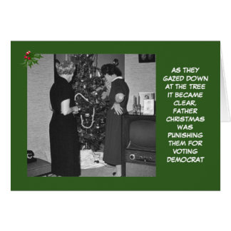 Funny Republican Christmas Greeting Card