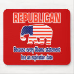 Funny Republican Obama Mouse Pads