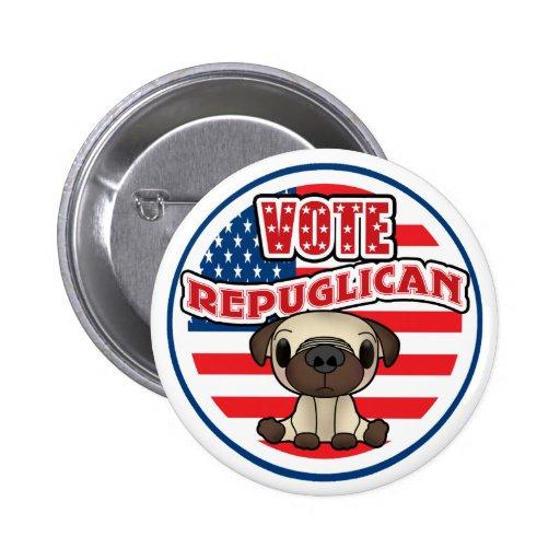 Funny Republican Presidential Election Button