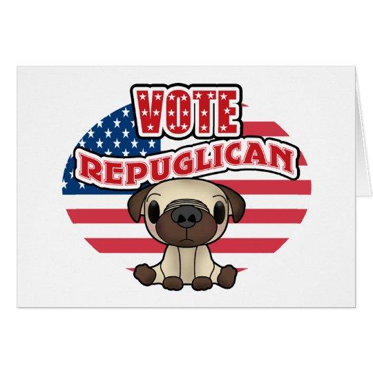 Funny Republican Presidential Election Card