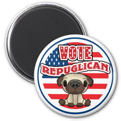 Funny Republican Presidential Election Refrigerator Magnets