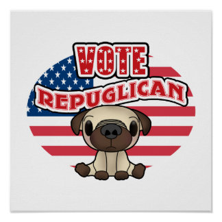 Funny Republican Presidential Election Poster