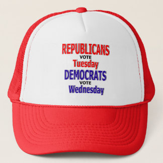 Funny Republican Vote Tuesday Hat