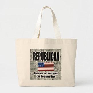 Funny Republican Welfare Bag