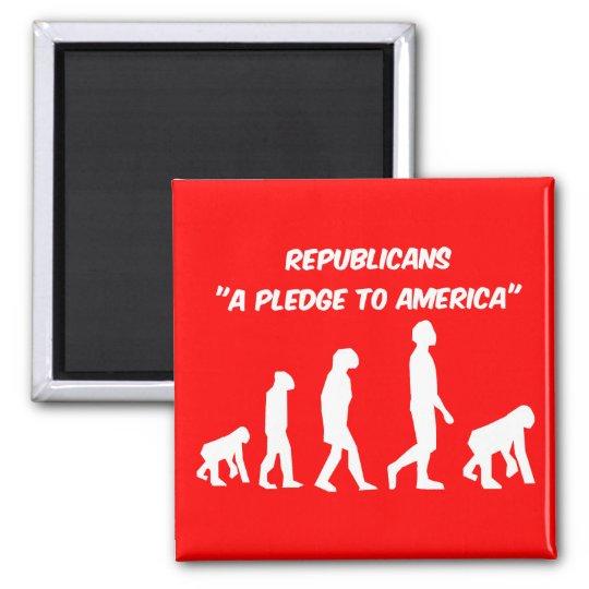 Funny Republicans Magnet