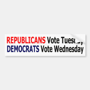 Republicans Vote On Tuesday Gifts on Zazzle