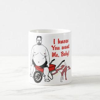 Funny Repulsive Fat Man Mug