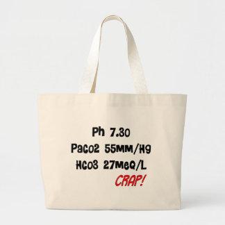 Funny Respiratory Therapist gifts Jumbo Tote Bag